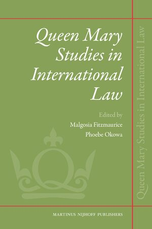 Cover Queen Mary Studies in International Law