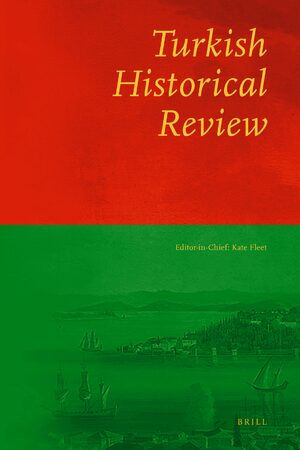 Cover Turkish Historical Review