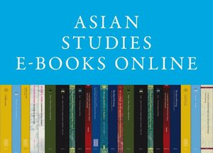 Cover Asian Studies E-Books Online
