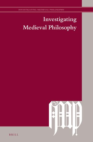 Cover Investigating Medieval Philosophy