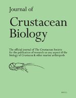 Cover Journal of Crustacean Biology