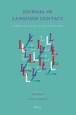 Cover Journal of Language Contact