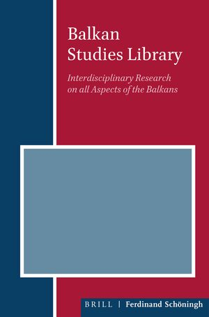 Cover Balkan Studies Library