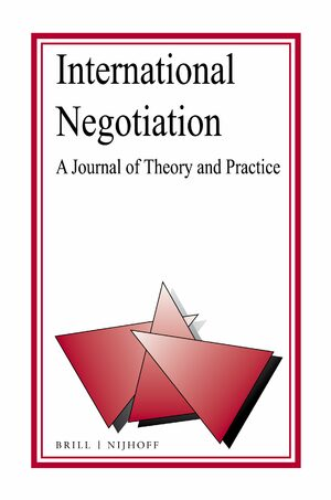 Cover International Negotiation