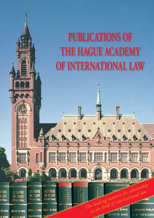 Cover The Hague Academy of International Law Monographs