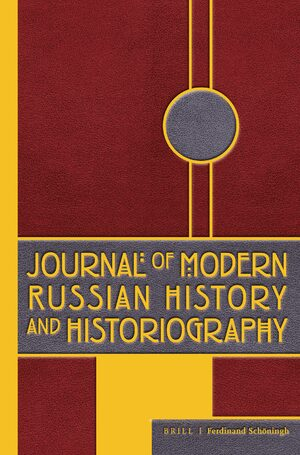 Cover Journal of Modern Russian History and Historiography