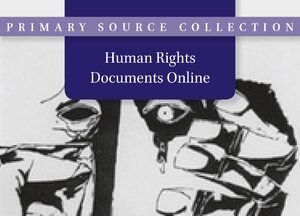 Cover Human Rights Documents Online