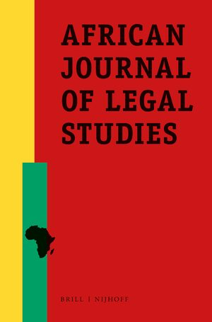 Cover African Journal of Legal Studies