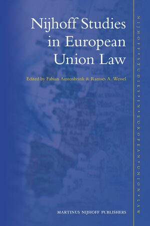 Cover Nijhoff Studies in European Union Law