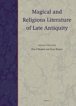 Cover Magical and Religious Literature of Late Antiquity