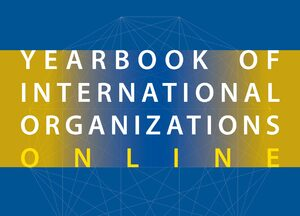 Cover Yearbook of International Organizations Online