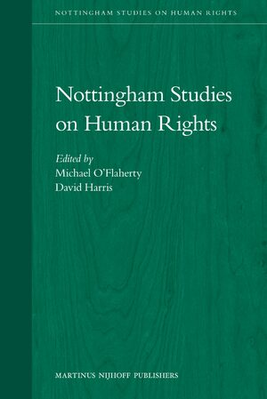 Cover Nottingham Studies on Human Rights