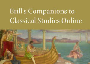 Cover Brill's Companions in Classical Studies Online