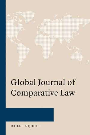 Cover Global Journal of Comparative Law