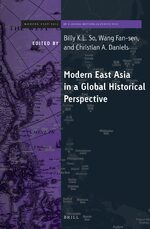 Cover Brill's Series on Modern East Asia in a Global Historical Perspective