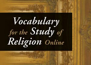 Cover Vocabulary for the Study of Religion Online