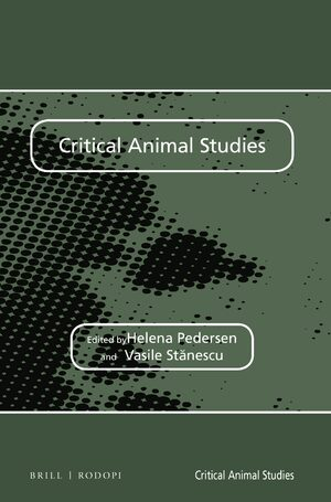 Cover Critical Animal Studies