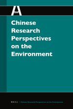 Cover Chinese Research Perspectives on the Environment