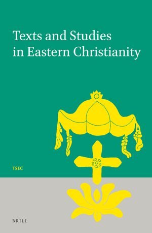 Cover Texts and Studies in Eastern Christianity