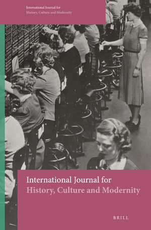 Cover International Journal for History, Culture and Modernity