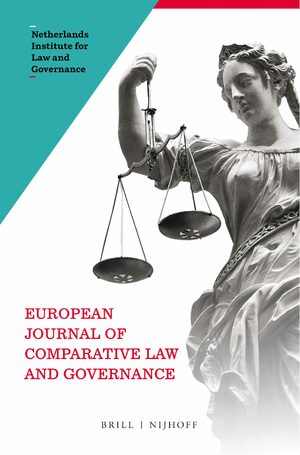 Cover European Journal of Comparative Law and Governance