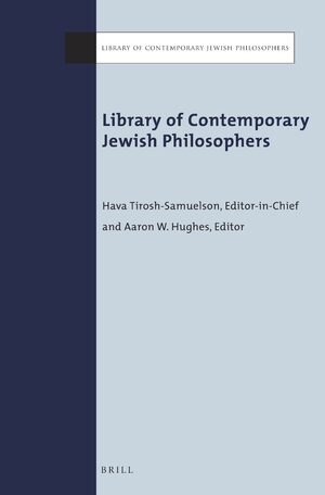 Cover Library of Contemporary Jewish Philosophers