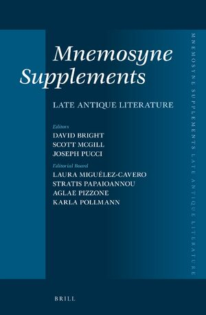 Mnemosyne, Supplements, Late Antique Literature