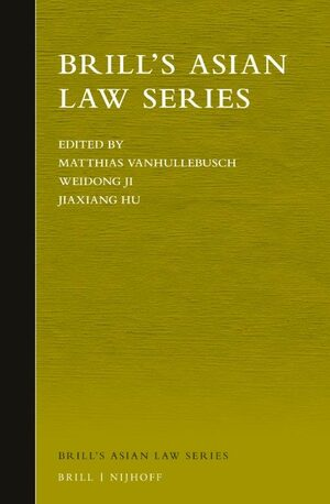 Cover Brill's Asian Law Series