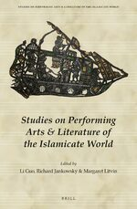 Cover Studies on Performing Arts & Literature of the Islamicate World