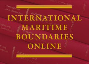Cover International Maritime Boundaries Online
