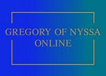 Cover Gregory of Nyssa Online