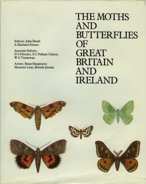 Cover The Moths and Butterflies of Great Britain and Ireland