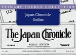 Cover Japan Chronicle Online