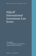 Cover Nijhoff International Investment Law Series