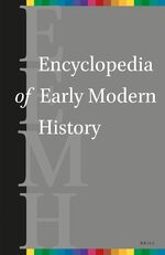 Cover Encyclopedia of Early Modern History