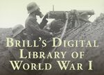Cover Brill's Digital Library of World War I
