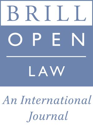 Cover Brill Open Law
