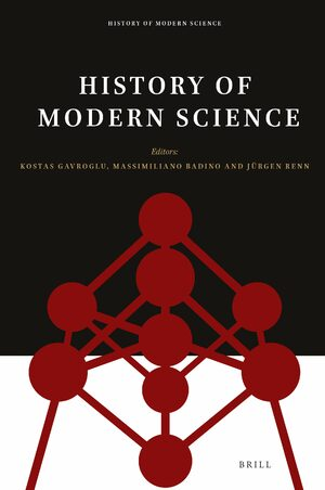 Cover History of Modern Science