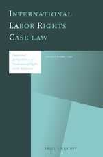 Cover International Labor Rights Case Law