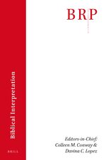 Cover Brill Research Perspectives in Biblical Interpretation