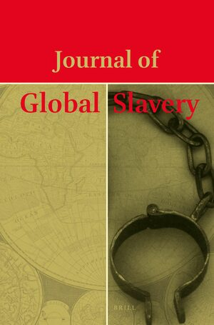 Cover Journal of Global Slavery