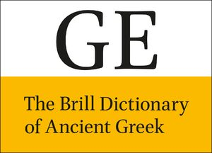 Cover The Brill Dictionary of Ancient Greek Online