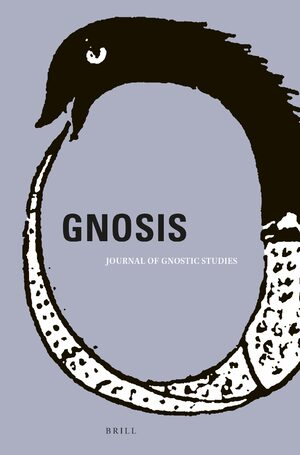 Cover Gnosis: Journal of Gnostic Studies