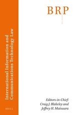 Cover Brill Research Perspectives in International Information and Communications Technology Law