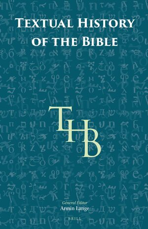 Cover Textual History of the Bible