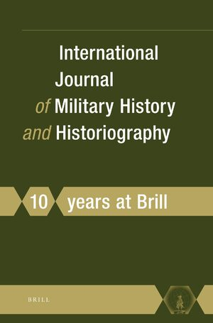 Cover International Journal of Military History and Historiography