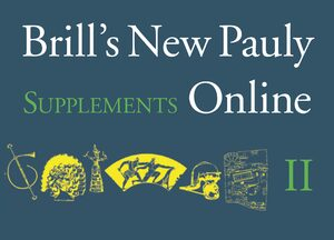 Cover Brill's New Pauly Supplements Online II