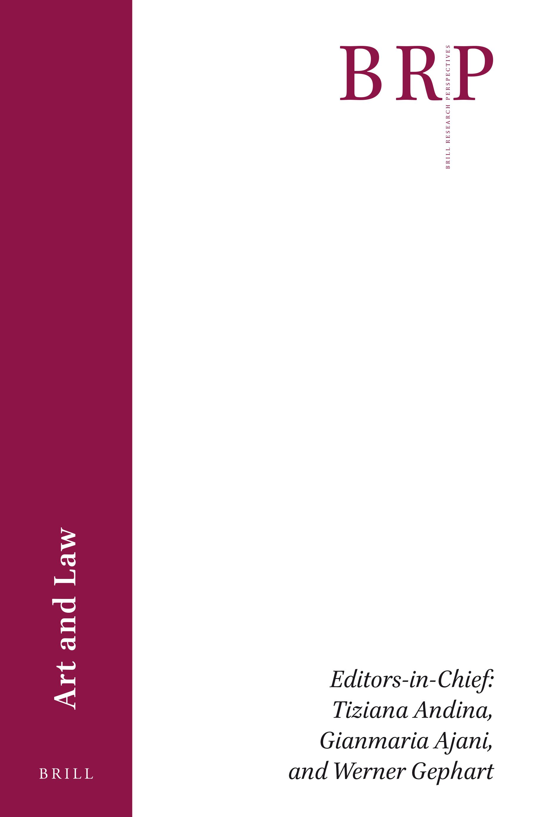 Imago Decidendi in Brill Research Perspectives in Art and