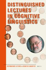 Cover Distinguished Lectures in Cognitive Linguistics