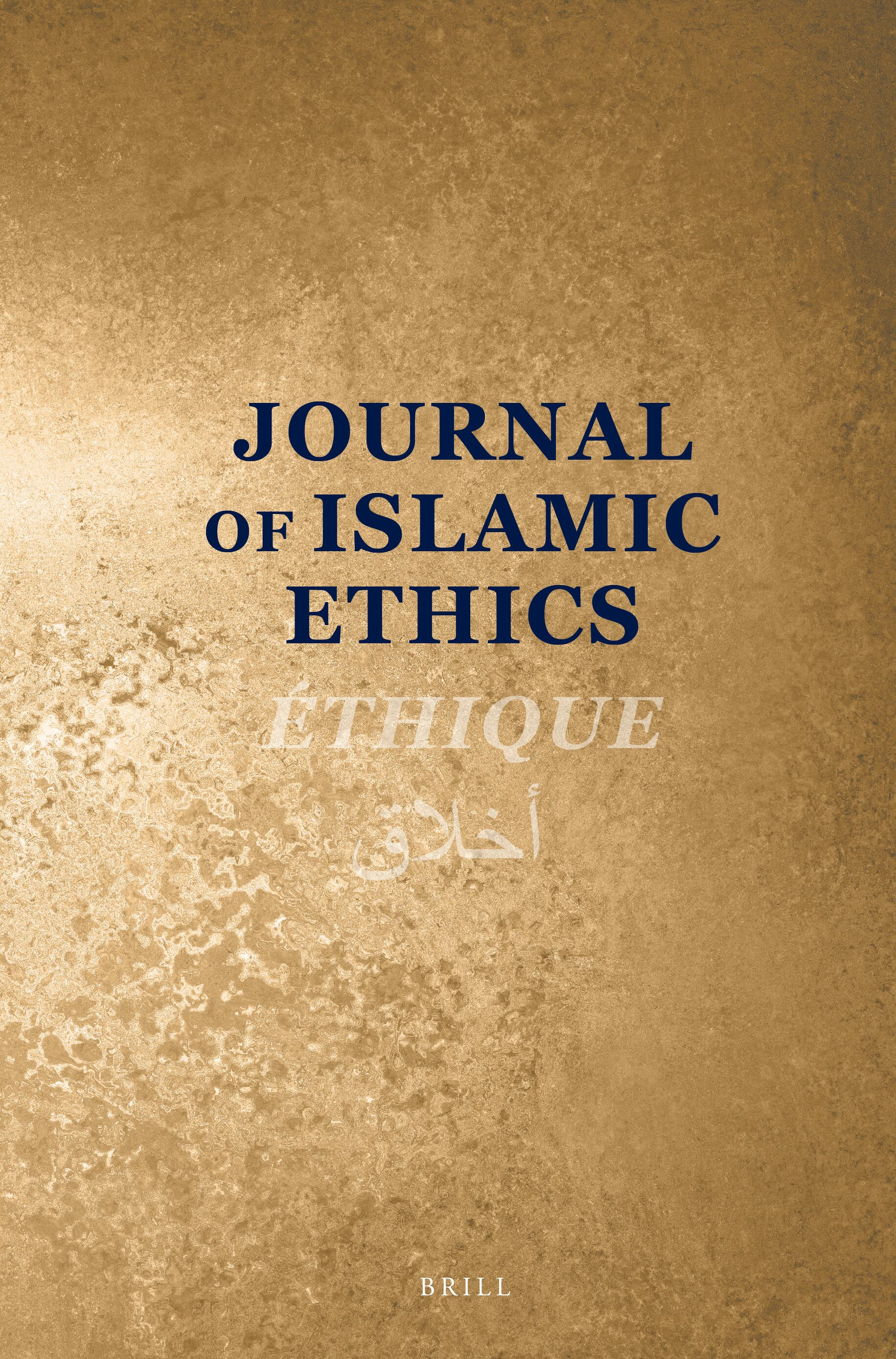 Journal of Islamic Ethics | brill